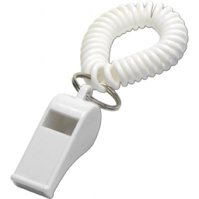 Image of Branded whistle with wrist cord