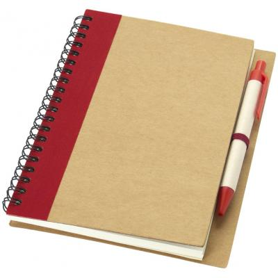 Image of Recycled A6 Priestly notebook and pen