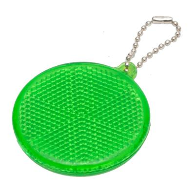 Image of Round Hard reflective Keyrings