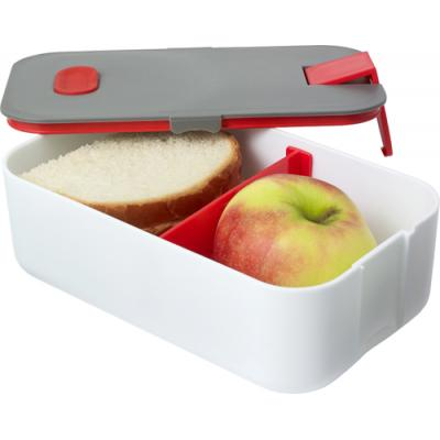 Image of PP and silicone lunchbox