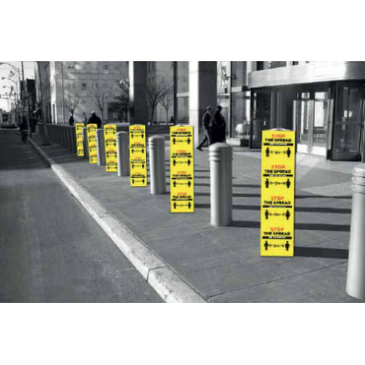Image of Stay Safe Bollard Covers