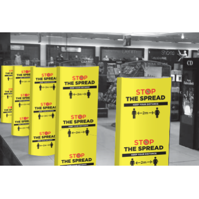 Image of Stop The Spread - Security Covers