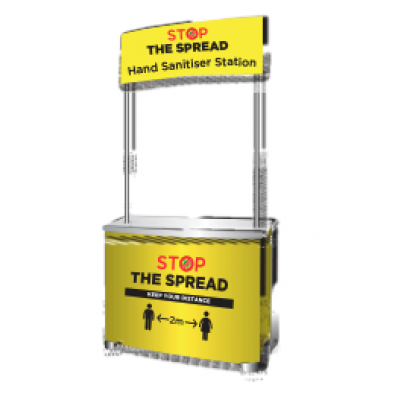 Image of Stop The Spread - PVC Counter