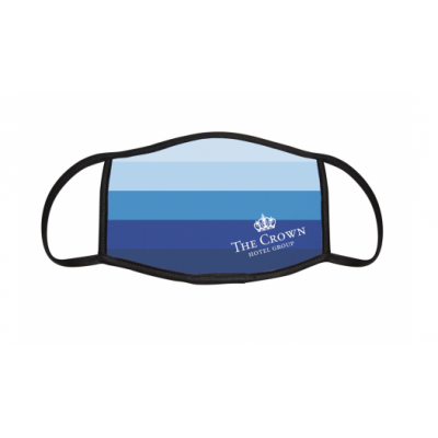 Image of Dye Sublimation Face Mask. Printed with your Logo