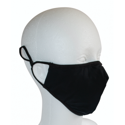 Image of Premium Polyester/elastane sublimated mask. Printed with your Logo