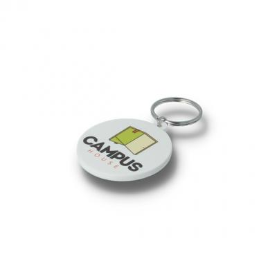 Image of Recycled 45mm Circle Keyring
