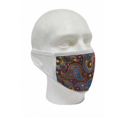 Image of Basic Fabric Face Mask. Printed with your Logo